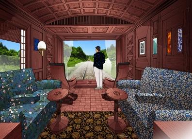 Новый ретропоезд-отель к услугам гостей Японии