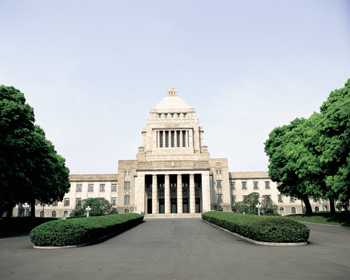 Здание японского парламента. Построено в 1936 г.