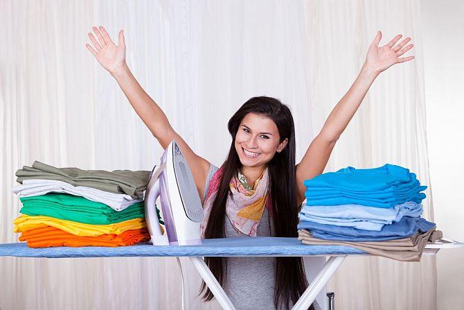 Как правильно гладить одежду?