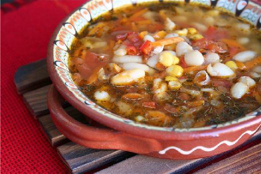 Болгарский суп Боб чорба